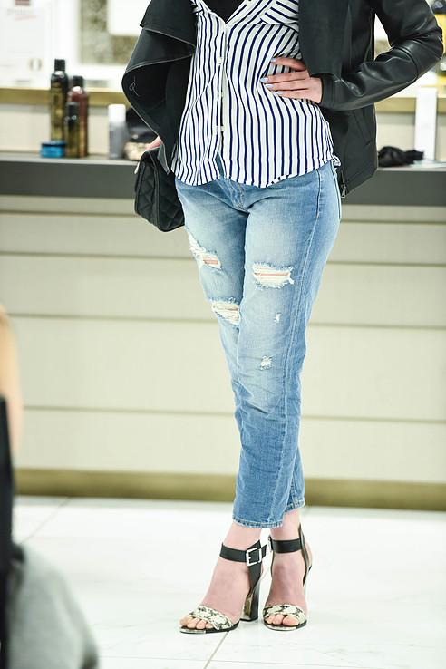 Express girlfriend jeans